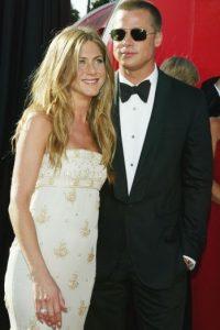 """Un año más tarde, Pitt filmó la película """"Sr. y Sra. Smith"""" con Angelina Jolie. Foto:Getty Images"""