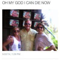 Ella se sintió morir tras conocer al doble de Bill Murray. Foto:vía collegehumor.com