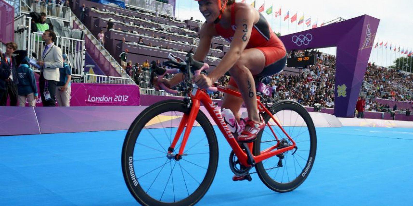 Ganó bronce para Bermuda en triatlón femenino Foto:Getty Images