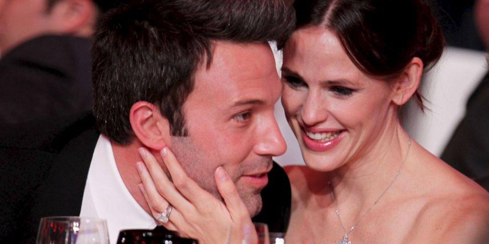 Ben Affleck y Jennifer Garner anunciaron su separación tras diez años de matrimonio. Foto:Getty Images