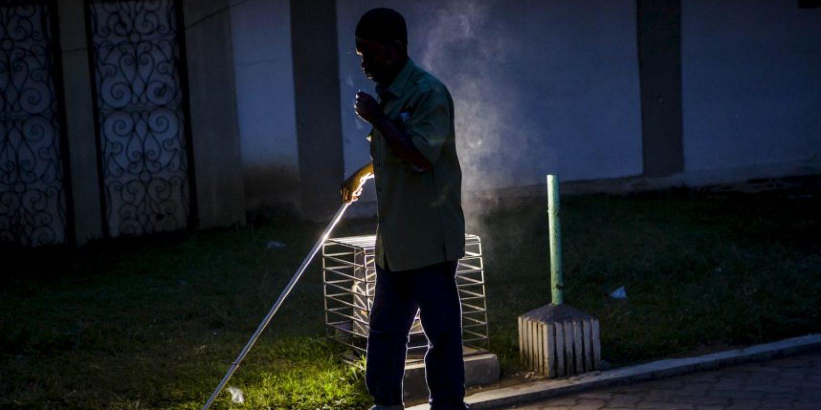 Franco Ramírez es ciego de nacimiento. Foto:Getty Images