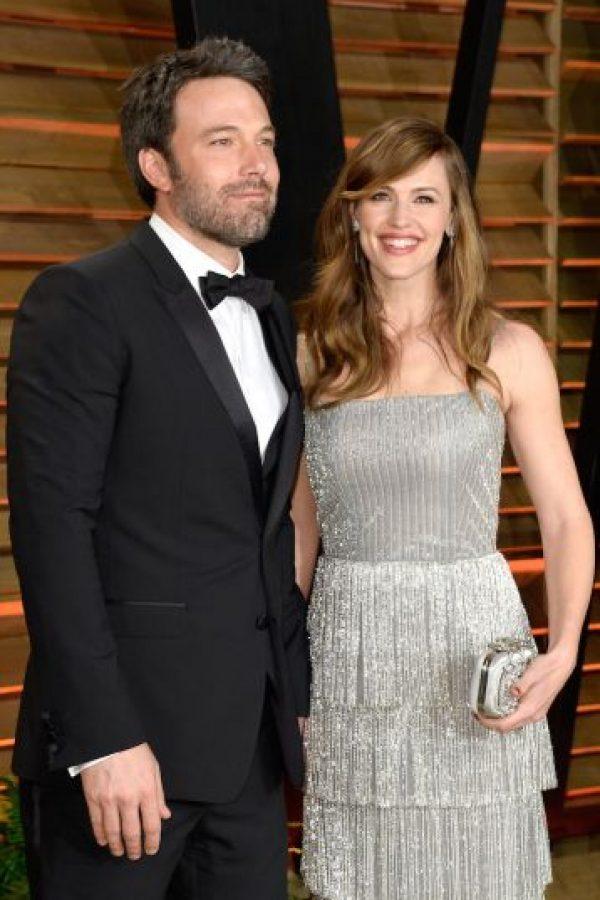 La pareja confirmó los rumores de su crisis matrimonial un día después de su décimo aniversario de boda. Foto:Getty Images