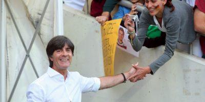 El técnico de Alemania, campeón del mundo Foto:Getty Images