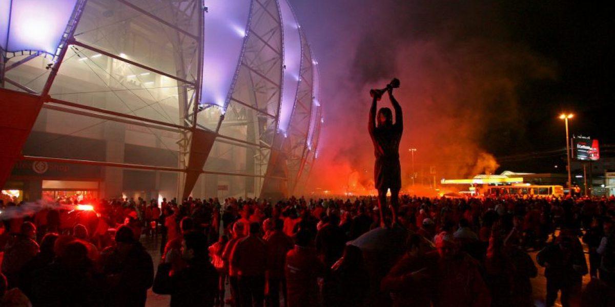 COPA LIBERTADORES: El color rojo se hizo presente en la semifinal Inter vs. Tigres
