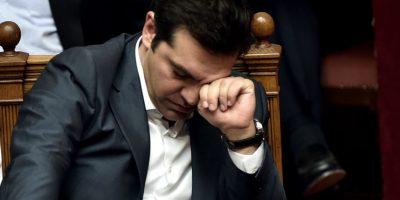 Uno de los emblemas de la campaña, y de los primeros meses de gobierno de Alexis Tsipras, fue el rechazo a las medidas impuestas por sus acreedores para el pago de la deuda griega. Foto:AFP