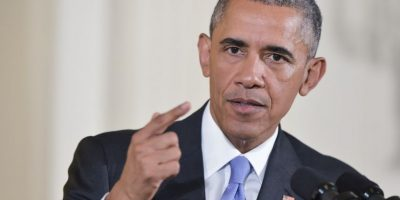 El periodista Major Garrett le preguntó acerca de presos estadounidenses que continúan en Irán. Foto:AFP