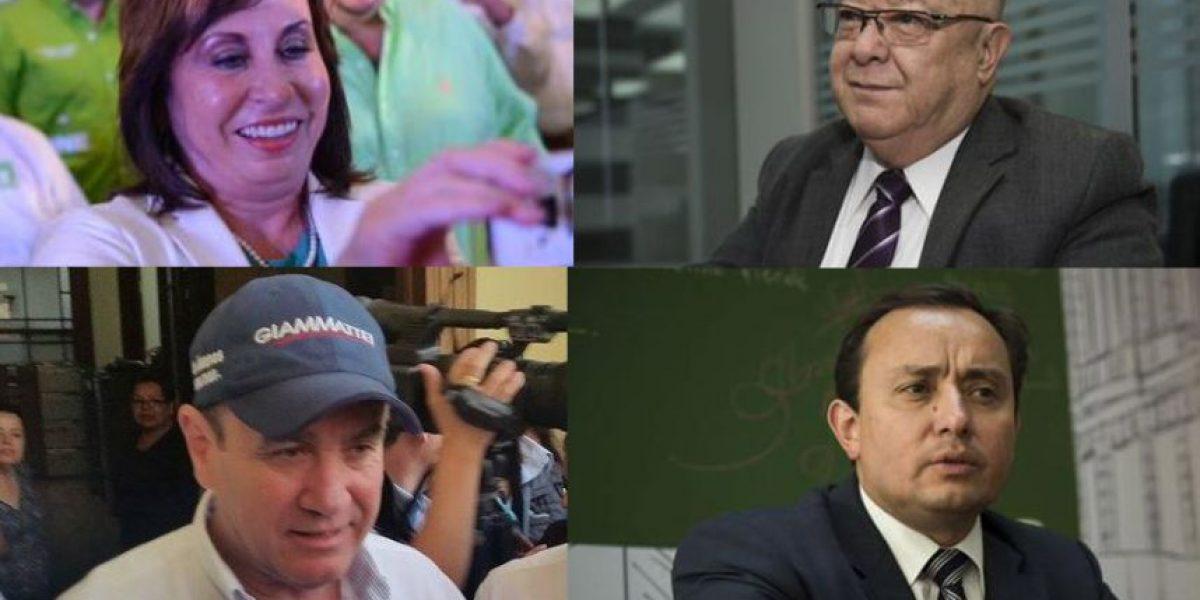 Solo cuatro candidatos asisten al primer foro presidencial