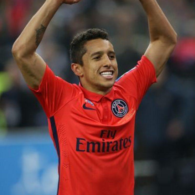 Con 21 años, es indiscutible del PSG y también seleccionado de Brasil. Foto:Getty Images