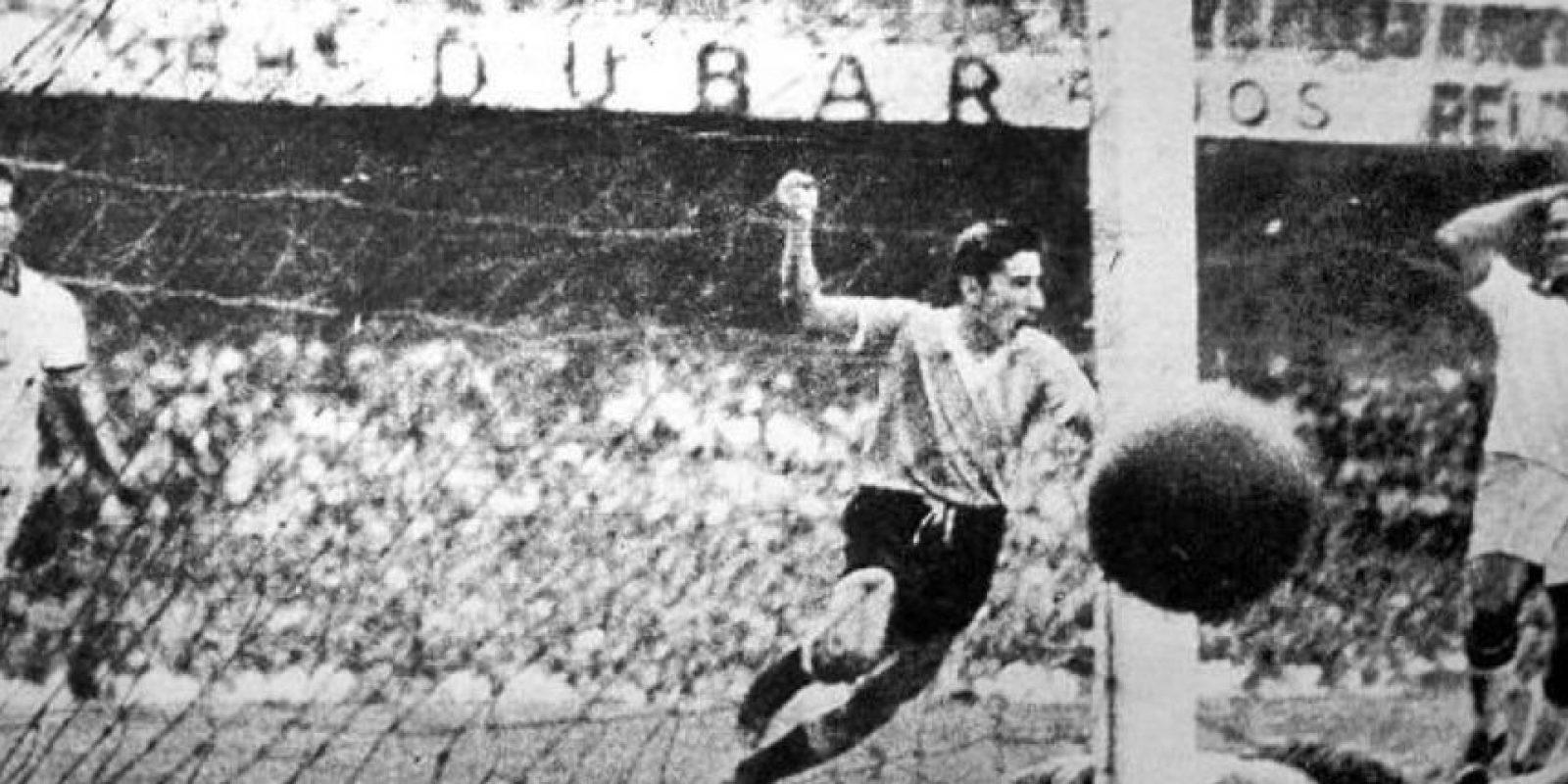 """Marcó el gol que le dio el triunfo a la """"Celeste"""" en el """"Maracanazo"""" Foto:Twitter"""