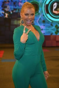 La actriz venezolana conquistó a sus fans con este vestido verde. Foto:Getty Images