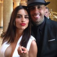 La modelo colombiana eligió este atrevido outfit blanco para la gran noche Foto:vía instagram.com/jessicacedielnet