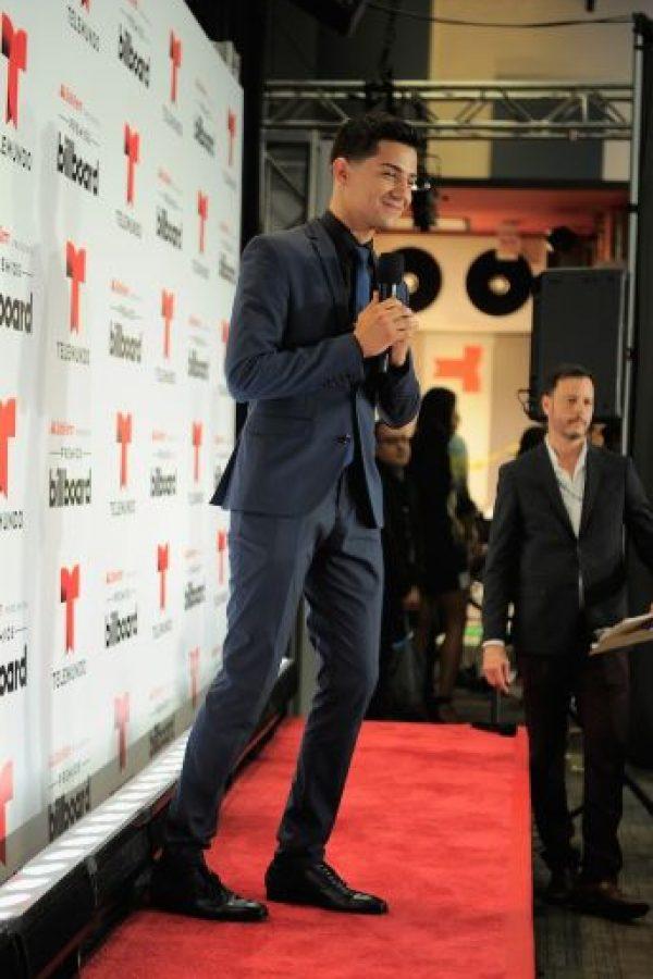 """El cantante Luis Coronel se coronó como el ganador de la categoría """"Lo toco todo"""" Foto:Getty Images"""