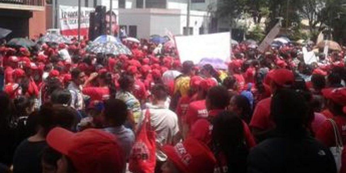 Líder confirma manifestación masiva en apoyo a Barquín