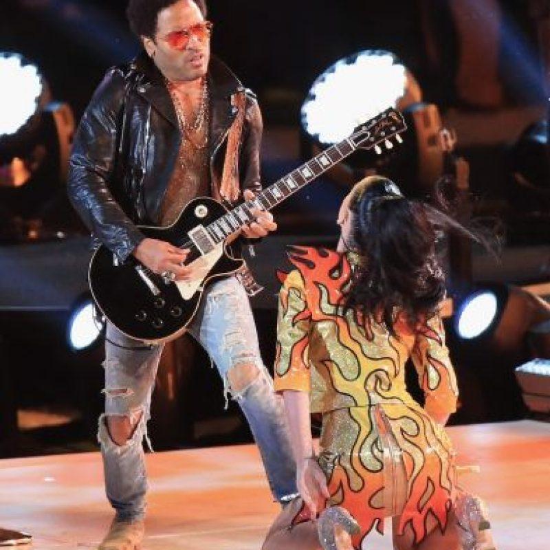 Posteriormente apareció Lenny Kravitz en el escenario. Foto:Getty Images