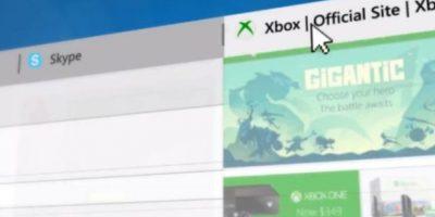 Se añadieron vistas de las páginas favoritas como una barra fija. Foto:Microsoft Windows