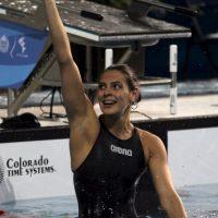 3. El uniforme de la nadadora mexicana Fernanda González Foto:Getty Images