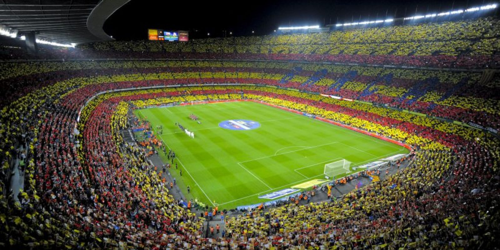 Camp Nou (Barcelona, España) Foto: Getty Images