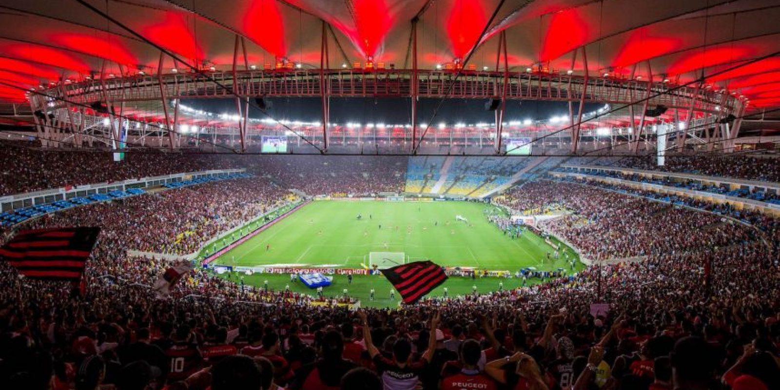 """Aquí se dio el histórico """"Maracanazo"""" en 1950, cuando Brasil perdió ante Uruguay en la Copa del Mundo. También fue sede de la final de Brasil 2014 y vio coronarse a Alemania. Foto:Getty Images"""