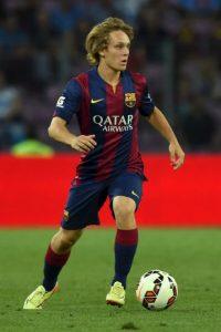 Otra de las joyas del Barcelona es este mediapunta de 19 años. Foto:Getty Images
