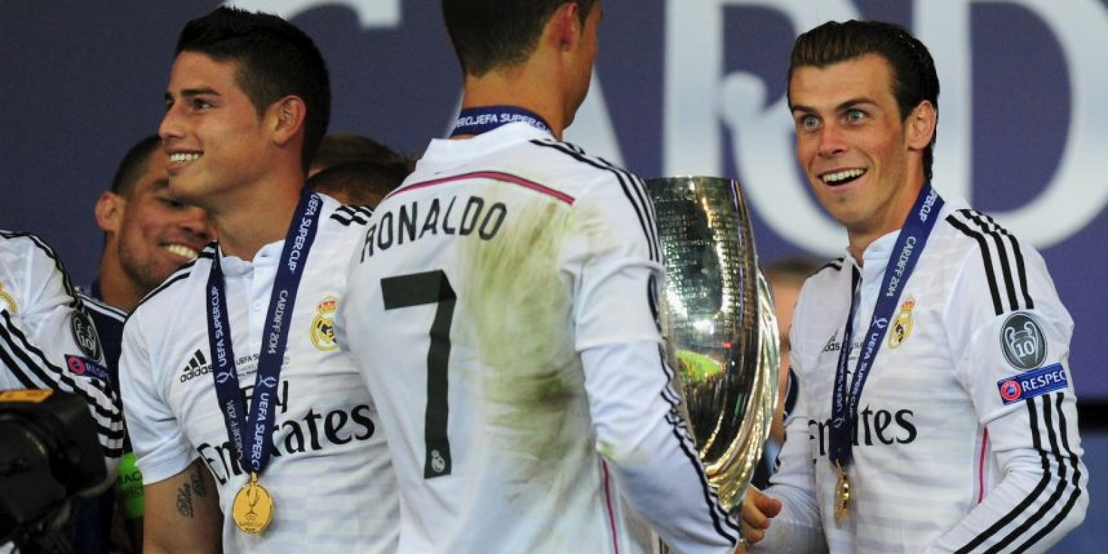 Ellos son los futbolistas que más dinero han ingresado por publicidad al Real Madrid en 2015: 37 millones de euros. Foto:Getty Images