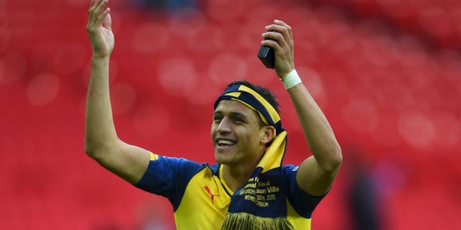 Su jugador más valioso es Alexis Sánchez (55 millones de dólares). Foto:Getty Images