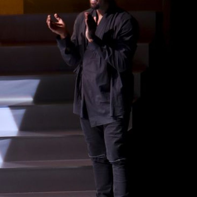 1. Repudio a Kanye West en la ceremonia de clausura Foto: Getty Images