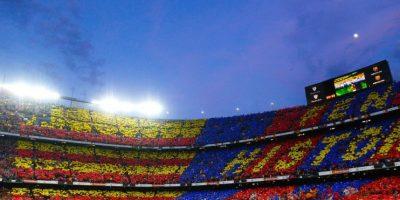 Casa del Barcelona, fue inaugurado en 1957 y tiene capacidad para 99 mil espectadores. Foto:Getty Images