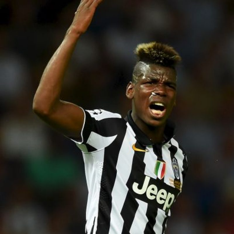 "Su ""joya"" es Paul Pogba (55 millones de euros) Foto: Getty Images"