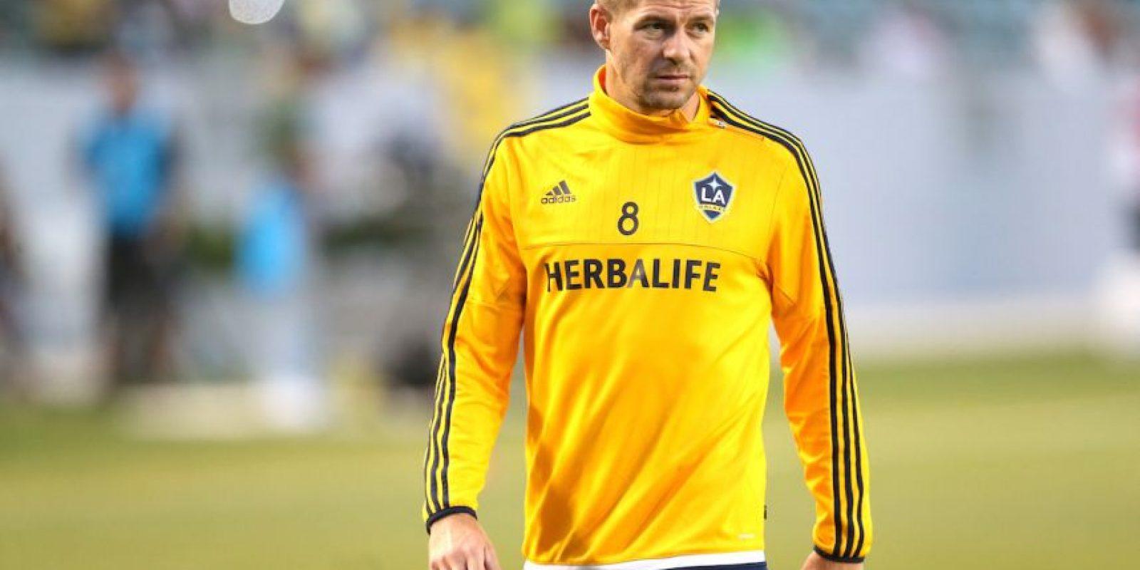 Steven Gerrard es una de las figuras que engalanarán la MLS. Foto:Getty Images