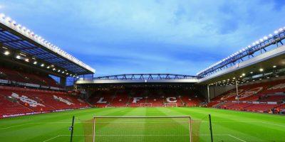 Es la casa del Liverpool FC, se inauguró en 1884 y tiene capacidad para 45 mil espectadores. Foto:Getty Images