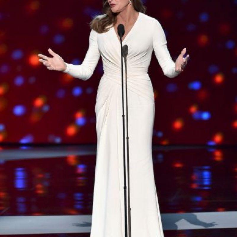 Jenner fue galardonada con el Premio Arthur Ashe al Valor. Foto:Getty Images