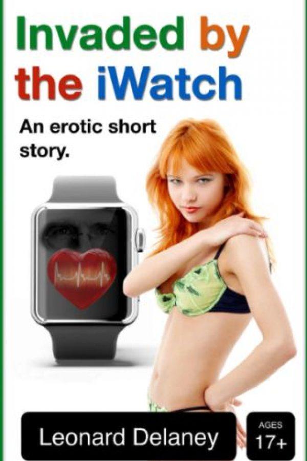 Aunque no lo crean, el reloj inteligente de Apple protagoniza una novela erótica disponible en Amazon Foto:Leonard Delaney