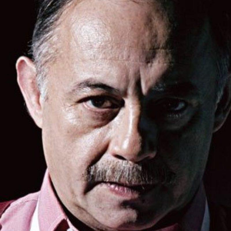 """Fernando Arévalo era """"Julio Trujillo"""" (en la vida real, Iván Urdinola Grajales.) Foto:vía Canal Caracol"""