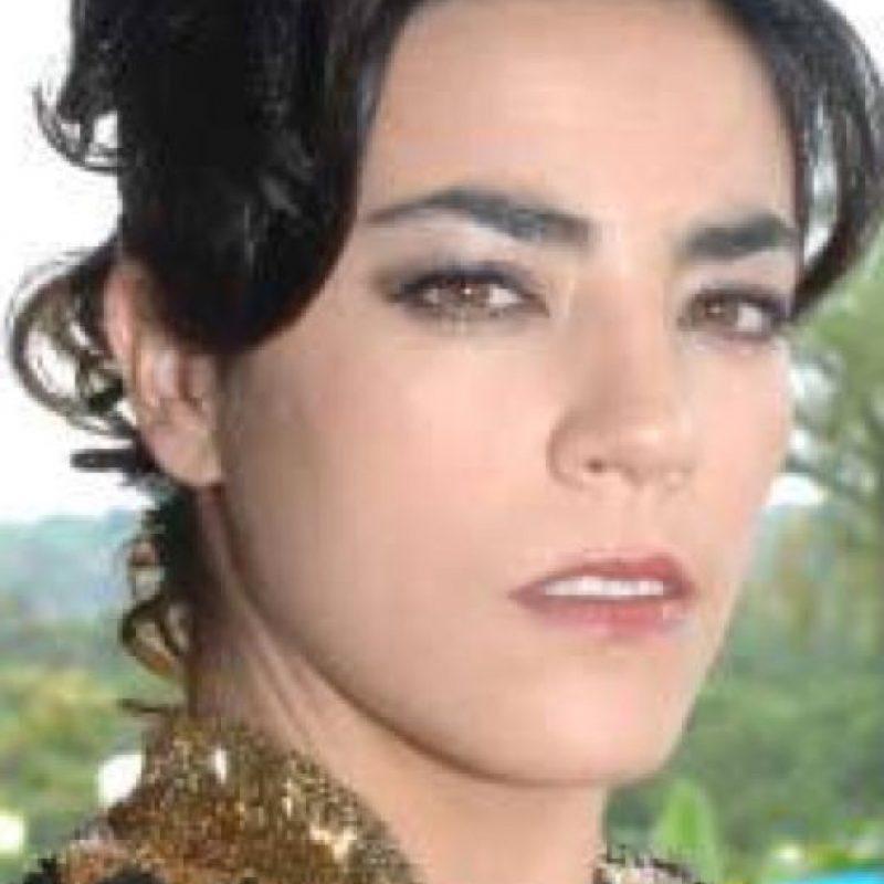 """Sandra Reyes fue """"Amparo Cadena"""" (en la vida real, Lorena Henao). Foto:vía Canal Caracol"""
