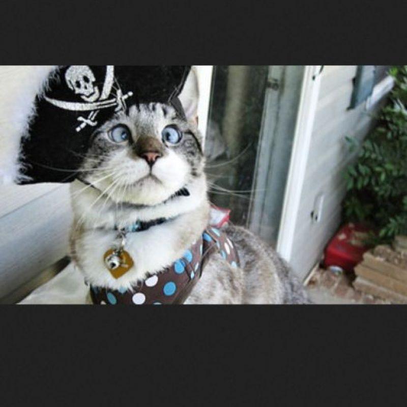 """Jack Sparrow de """"Piratas del Caribe"""" Foto:Pinterest"""