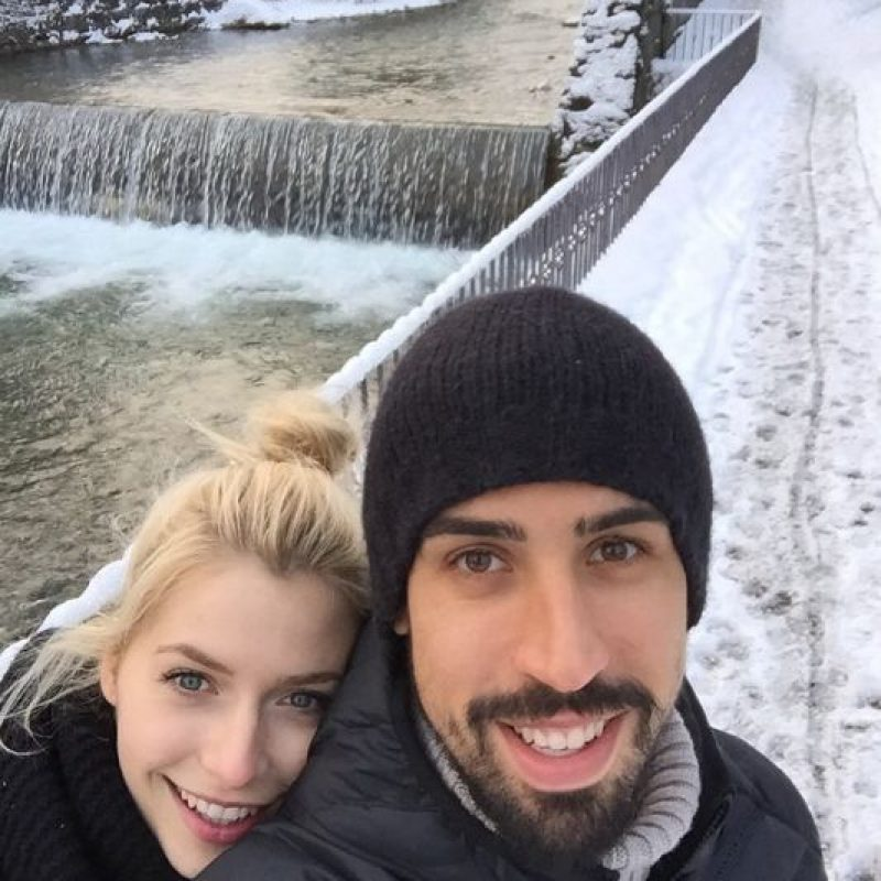 Hace unos días anunció su separación de la modelo Lena Gercke, su pareja durante cuatro años. Foto:Vía instagram.com/sami_khedira6