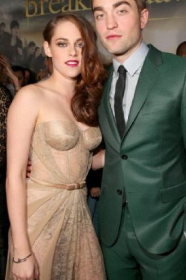 3. Robert Pattinson y Kristen Stewart Foto: Getty Images