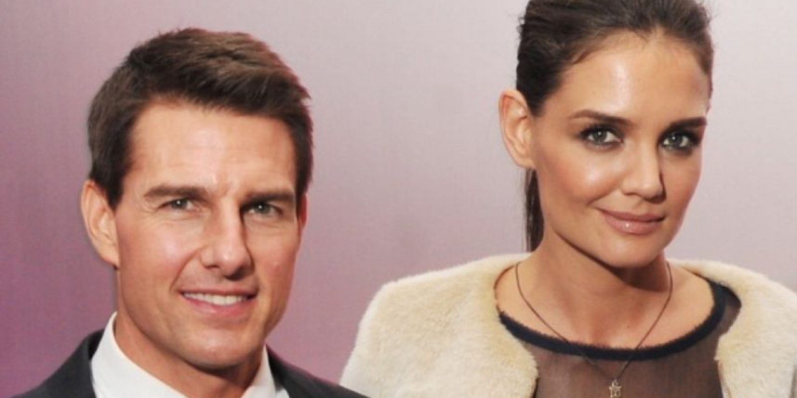 9. Tom Cruise y Katie Holmes Foto: Getty Images