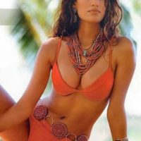 Fue la primera latina de la historia en participar en un comercial de Cover Girl. Foto: Sports Illustrated