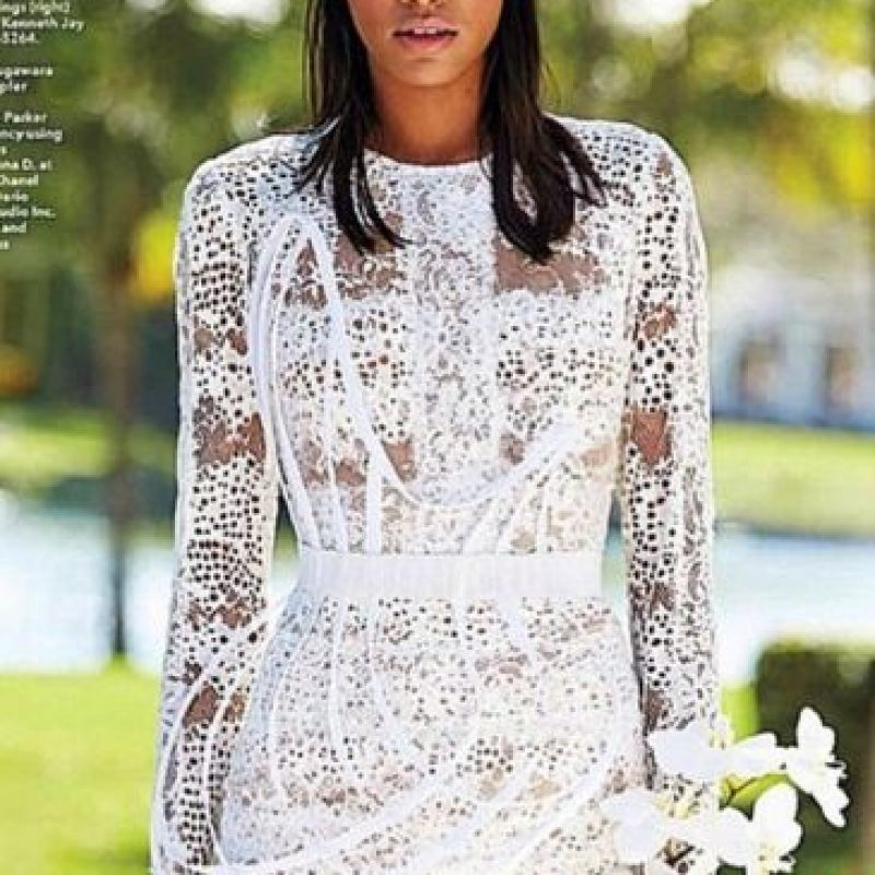 """Esta joven dominicana estado en la portada de la Revista """"Vogue"""", además de estar en la pasarela de Alexander Wang y Narciso Rodriguez. Sosa también ha sido el rostro de Lancome, Express y Gap Foto:Vía instagram.com/realarlenissosa/"""
