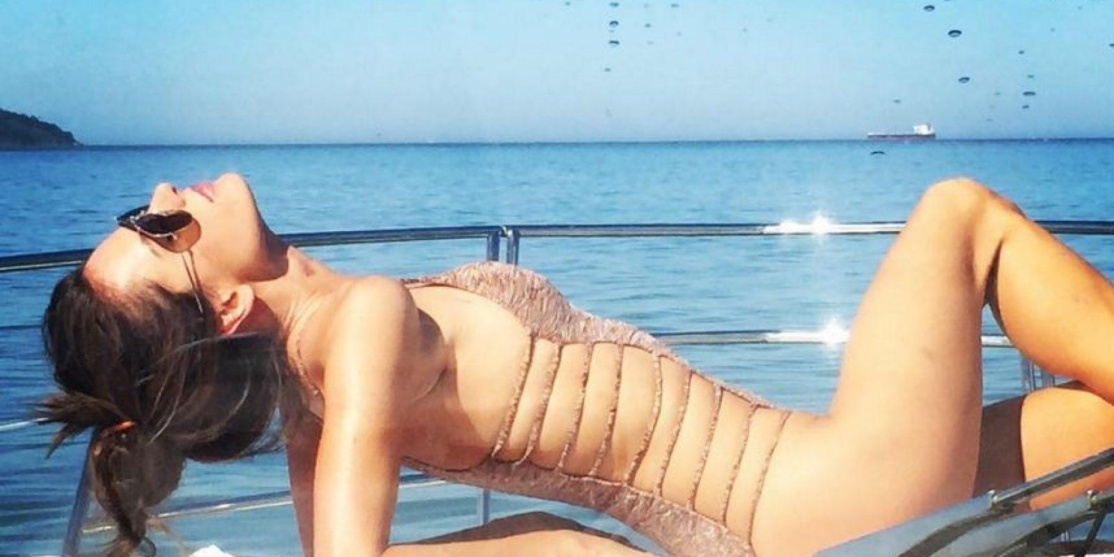 Otra de las modelos brasileñas en las pasarelas de Victoria's Secret, además de ser la primera en modelar para la línea PINK. Ha desfilado en las pasarelas de Dior y Ralph Lauren. Foto:Vía instagram.com/alessandraambrosio/