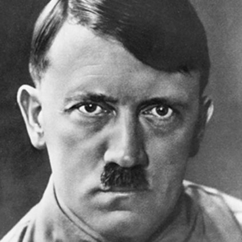 7. Adolf Hitler Foto: Pinterest