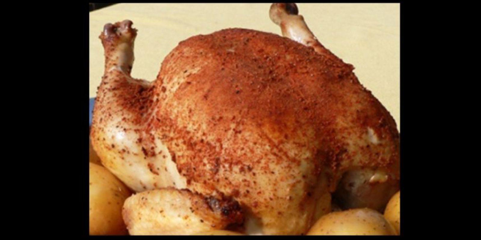 5. El clásico pollo rostizado Foto:Pinterest