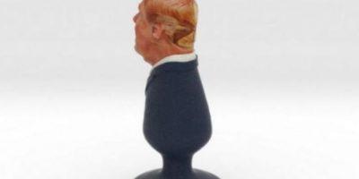 """4. Este es el juguete sexual inspirado en Donald Trump. Su nombre es """"Trumplug"""" y fue creado por el mexicanoestadounidense Fernando Sosa. Foto:Twitter: @politicalsculpt"""