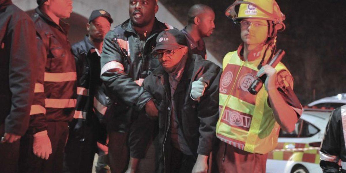 Choque de trenes deja 300 heridos en Johannesburgo
