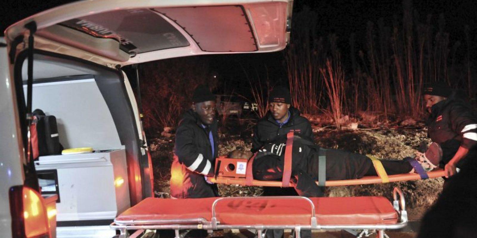 Más de 250 personas fueron trasladadas a los hospitales. Foto:AP