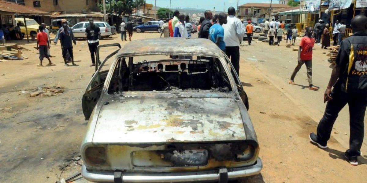 Niña y anciana matan a 9 personas en atentado terrorista en Nigeria