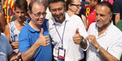 Josep Maria Bartomeu salió bien librado de las elecciones Foto:Getty Images