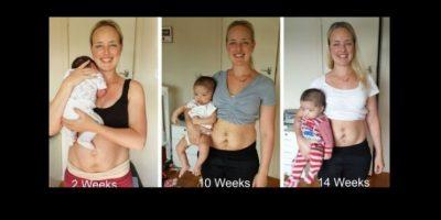 Esto lo hizo con el propósito de empoderar a las madres recientes, cuyo cuerpo cambia drásticamente luego del parto. Foto:vía Facebook /Julie Boshale