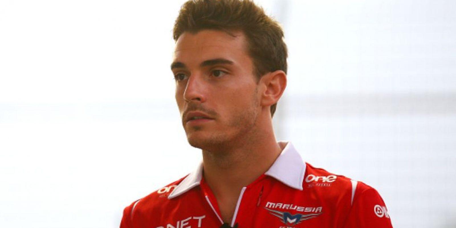 Jules Bianchi tenía 25 años. Un grave accidente lo dejó en un coma que no pudo superar. Foto:vía Getty Images